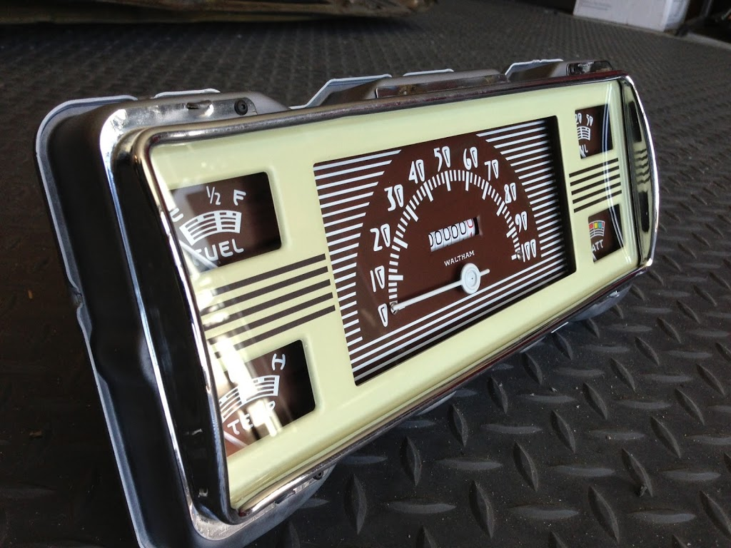 1940 ford pickup gauge cluster restoration with new artwork just dashes. Black Bedroom Furniture Sets. Home Design Ideas
