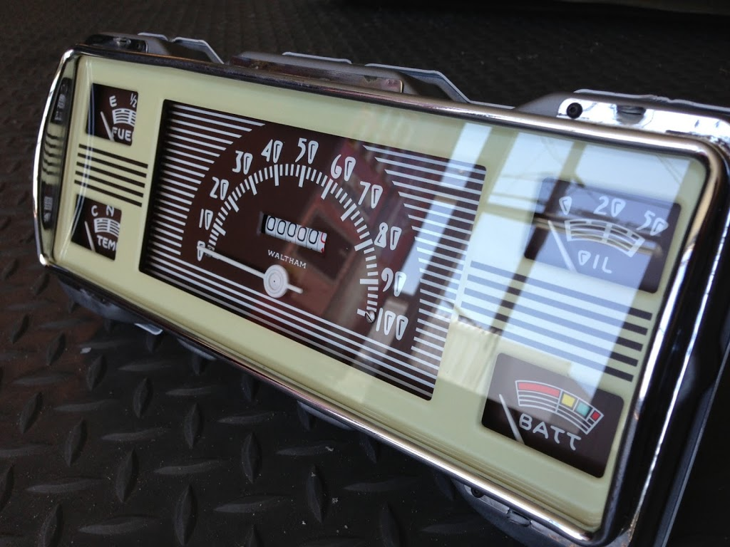 1940 Ford Pickup Gauge Cluster Restoration with New ...